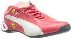 PUMA Future Cat M2 Ferrari Junior Tennis Shoe ,Rossa Corsa,5