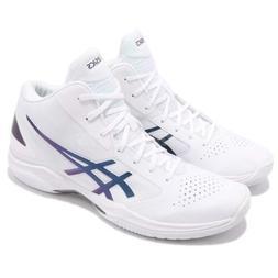 Asics Gel-Hoop V 10 White Prism Space Blue Men Basketball Sh
