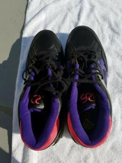 gel spotlyte isiah thomas basketball shoes black