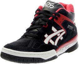 gel spotlyte sneakers black mens