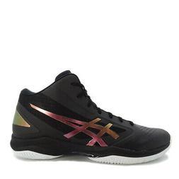 Asics GELHoop V 10  Men Basketball Shoes Black/Prism-Fire Re