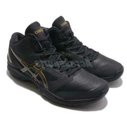 Asics Gelhoop V11 2E Wide Black Gold Men Basketball Shoes Sn
