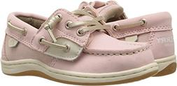 Sperry Girls' Songfish JR A/C Boat Shoe,Blush,6 Wide US Todd