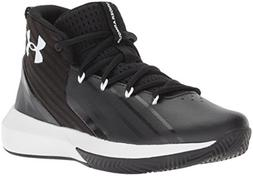 Under Armour Boys' Grade School Launch Basketball Shoe, Blac
