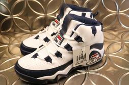 FILA GRANT HILL 1 Basketball Shoes Mens Sz 9 1BM00636 White