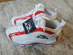Fila Grant Hill 2 Retro Basketball Shoes White Red Black 1BM