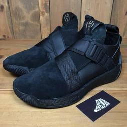 Adidas Harden LS Vol 2 Buckle Triple Black Suede F33831 Men'
