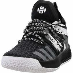 adidas Harden Vol. 2  Casual Basketball  Shoes Black Boys -