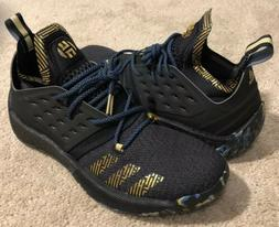 Adidas Harden Vol. 2 MVP 2018 Basketball Shoes Black Gold F3