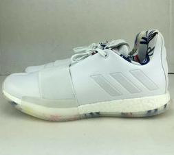 Adidas Harden Vol 3 Doodle Boost Basketball Shoes White Mens