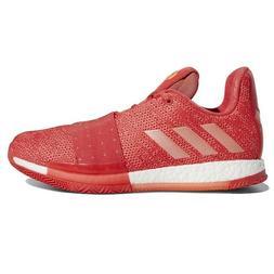 Adidas Harden Vol 3 Invader Red Coral Chalk D96990 Mens Bask