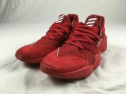 adidas Harden Vol.4 Basketball Shoes Men's Red/White NEW Mul