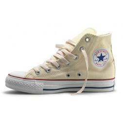 Converse Hi Top All Star Chuck Taylor Natural White Size 13