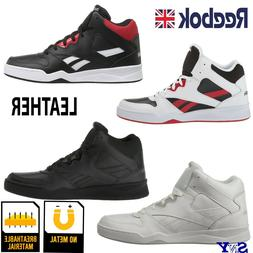 Reebok High-Top Basketball Leather Shoes Motion Control shoe