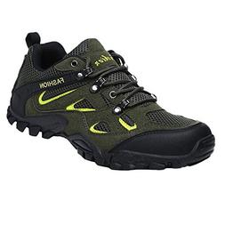 Colmkley Men Hiking Shoes Breathable Non-Slip Sneakers Outdo