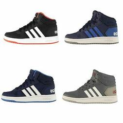 adidas Hoops Mid 2.0 Trainers Child Boys Shoes Casual Footwe