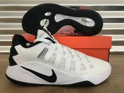 Nike Hyperdunk 2016 Low Basketball Shoes White Black SZ