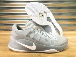 Nike Hyperdunk 2016 Low Basketball Shoes Wolf Platinum Grey
