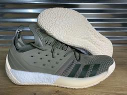 Adidas James Harden Vol.2 Basketball Shoes Trace Cargo Green