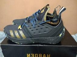 Adidas James Harden Vol 2 MVP Black Gold men's Basketball sh