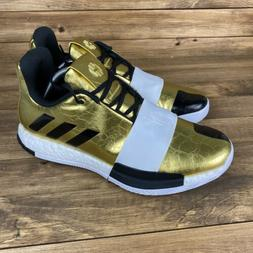 Adidas James Harden Vol. 3 Imma Star Men's 12 Gold Basketbal