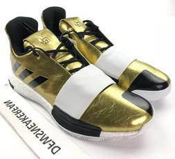 Adidas James Harden Vol. 3 Imma Star Men's 9.5 Gold Basketba