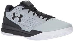 Under Armour Men's Jet Low Basketball Shoe, Overcast Gray /A