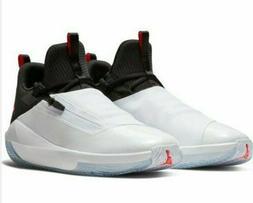 Nike Jordan Jumpman Hustle Basketball Shoes White/Infrared-2