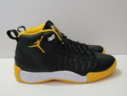 Jordan Jumpman Pro Black Yellow Men's Basketball Shoes Sz 8.