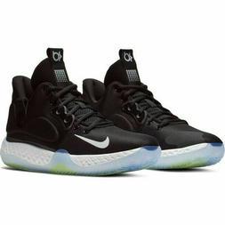Nike KD Trey 5 VII Basketball Shoes Black White Volt AT1200-