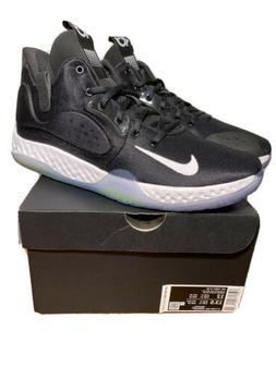 NIKE KD Trey 5 VII Black White Volt Basketball Shoes Men's S