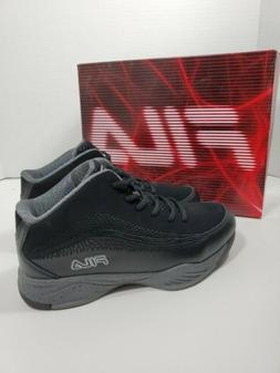 Kid's FILA Contingent 4 black size- 7 new with box boy girl