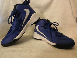 Nike Kid's Future Court Blue/White Sz 5y AJ2615-400 Basketba