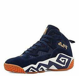 Fila Kid's MB Basketball Shoes Fila Navy/White/Marigold 4