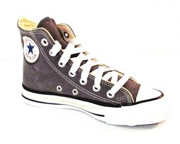 CONVERSE Kids All Star Basketball Gray Suede Hi Cut Shoes Sn