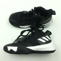 Adidas Kids Black Explosive Match K Basketball Shoes 11 Y G7