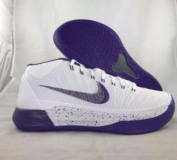 Nike Kobe AD Mid Baseline White Purple Black Basketball Shoe