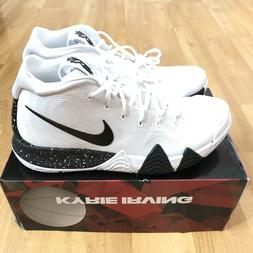 Nike Kyrie 4 TB Basketball Shoes White Black Men Size 11.5 B