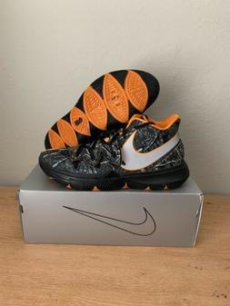 Nike Kyrie 5 V 'Taco' PE Black Orange Wood Camo NDS! Size 13