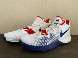 Nike Kyrie Flytrap USA Shoes White Deep Royal Blue Red AA707