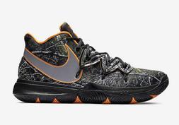 Nike Kyrie Irving 5 V Taco PE Black Orange AO2918-902 Wood C