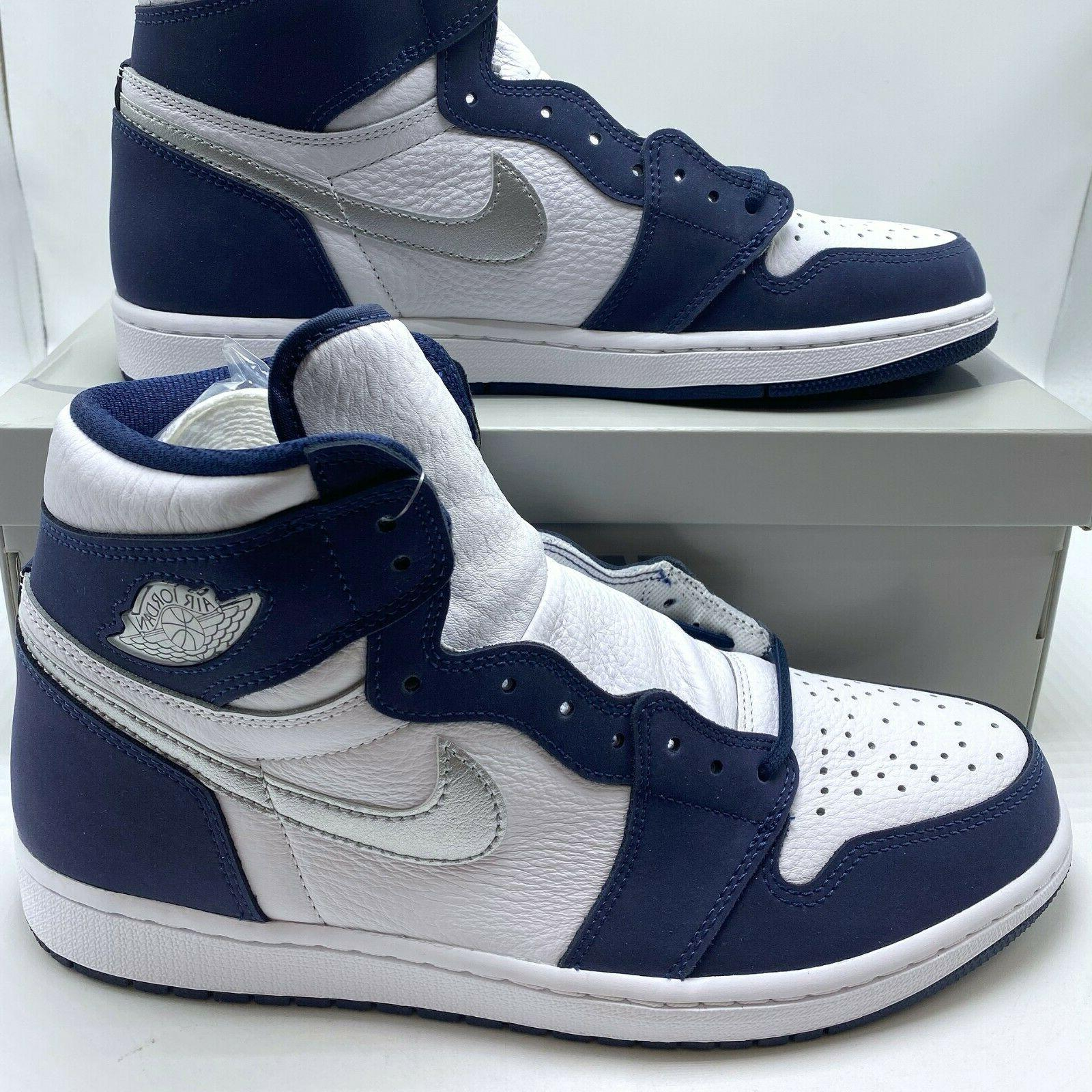 Air Jordan High CO Men's Shoes Navy DC1788-100 8-14
