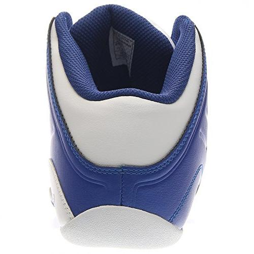 AND 1 Men's 4.0 Basketball White, M
