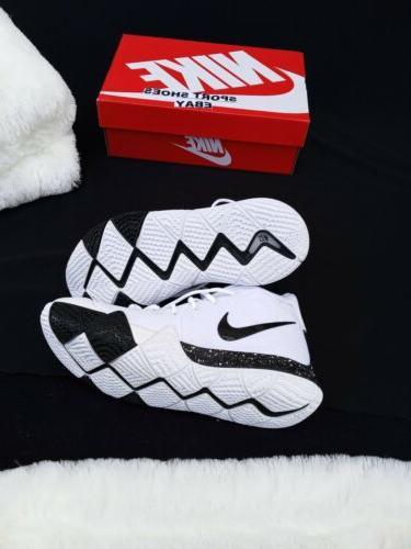 11.5 MEN'S Nike Kyrie 4 TB AV2296-100 White Black