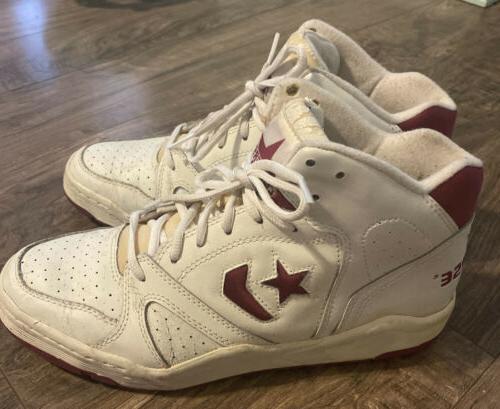 Converse Vintage Basketball NBA Shoes- 80s White
