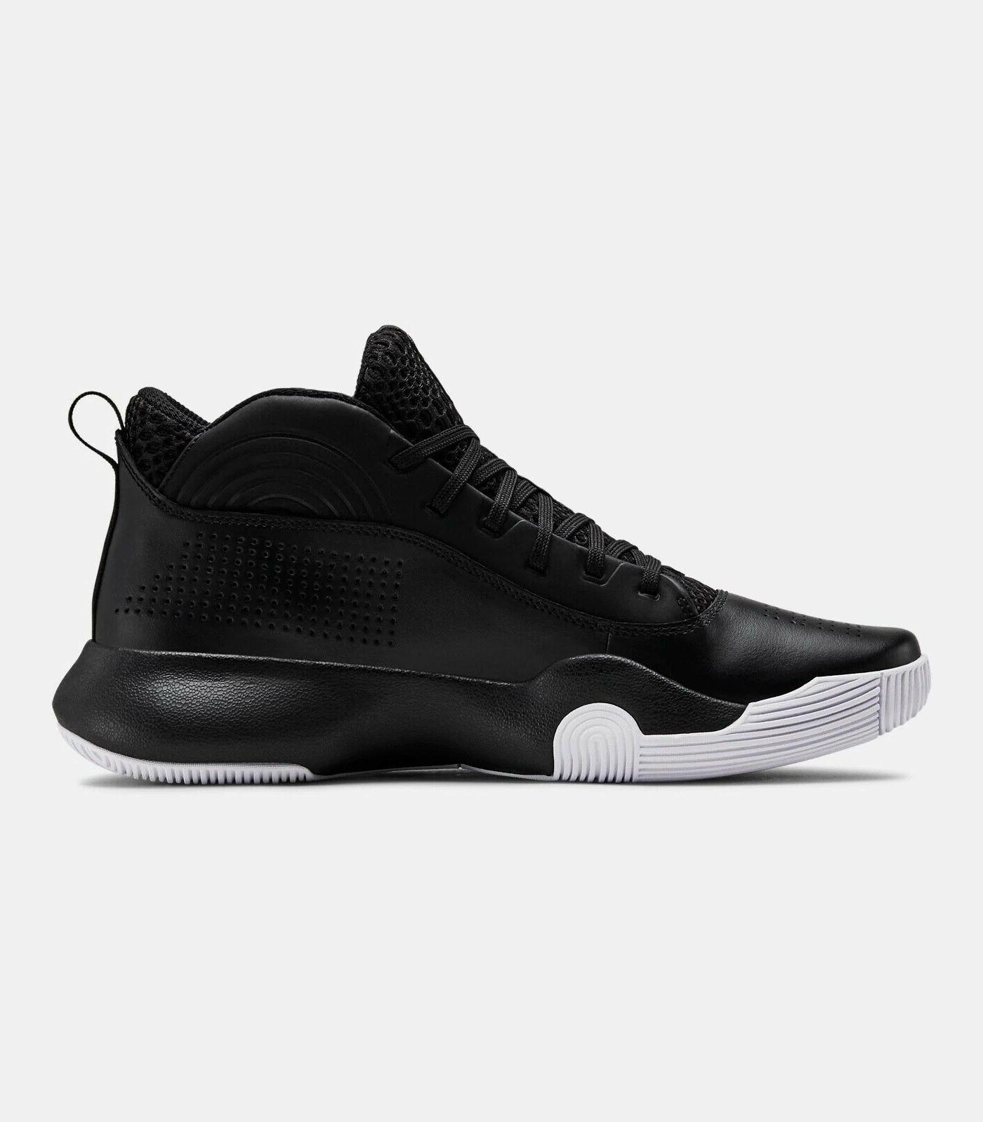 2020 Under Armour UA Basketball Black Style Shoes