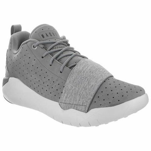 Jordan 23 Breakout Basketball Shoes Grey White Low Top - 881