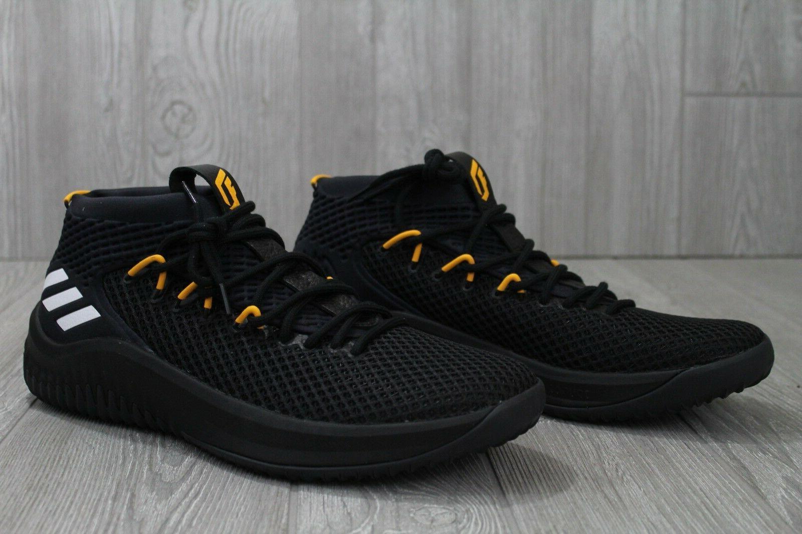 32 Black Yellow Lakers Basketball AC7293 12.5