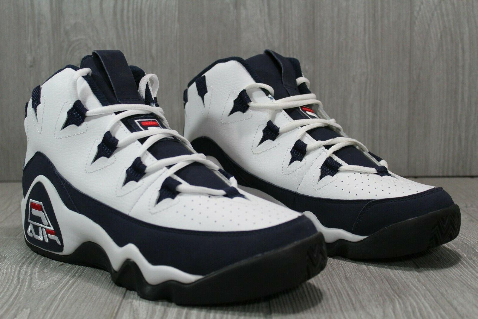 55 Fila 96 Basketball Shoes White Red