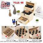 59 Bottles Essential Oil Wooden Box Multi-Tray Organizer- 3